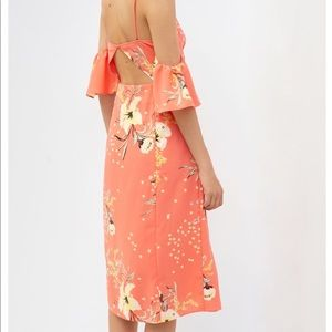 Coral UO dress NWT